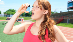 Working Out Can Improve Asthma Symptoms