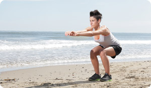 Super Quick Workout: Super Squats